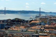 Or Lisbon from the castle