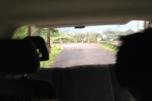 Stubborn rear door
