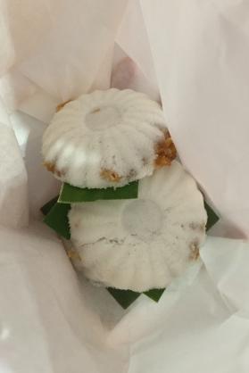 Tu Tu cake - coconut filling