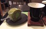 Jeju Green Tea & Roll @ O'sulloc
