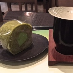 Jeju Green Tea & Roll @ O'sulloc