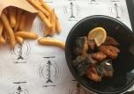 Halmuhely, Fried Fish