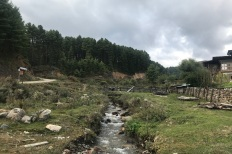 Tranquil village