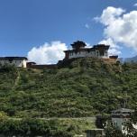 View of Dzong from Bridge