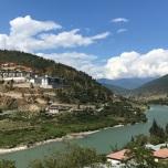 View from Wangdue Bridge